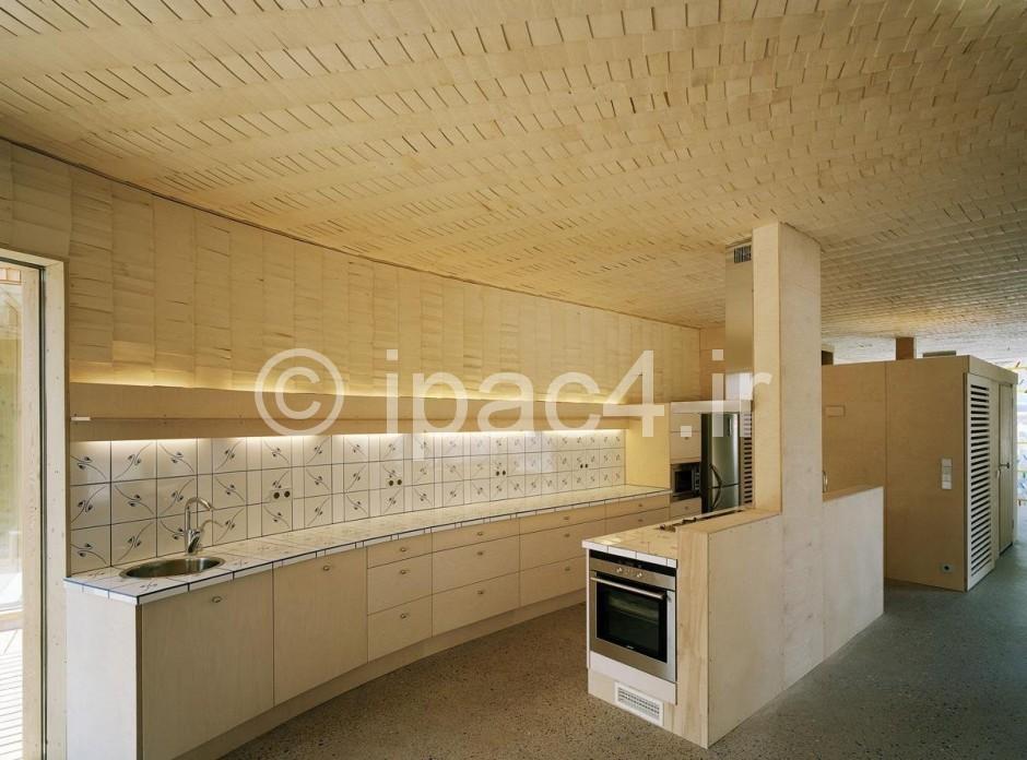 عکس از خانه مارپیچی شکل در اسپو، فنلاند,عکس خانه,معماری خانه,پلان خاه