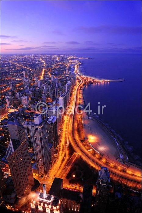 Mihanstar.com-آسمان خراش های شیکاگو,شیکاگو شهر آسمان خراش ها,آسمان خراش,عکس آسمان خراش,عکس از آسمان خراش های شیکاگو,برج های شیکاگو