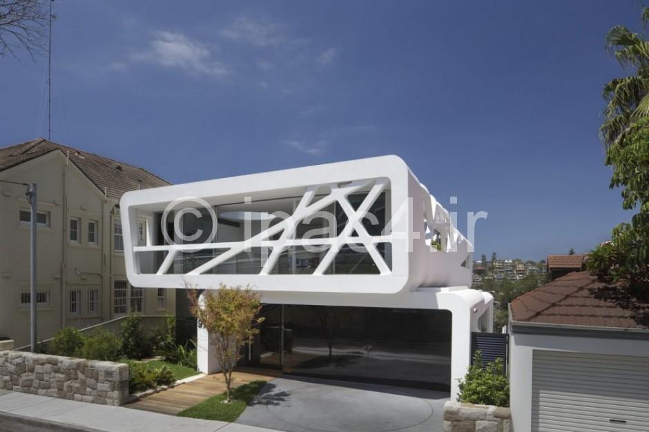 خانه مسکونی با نمای عنکبوتی,عکس خانه,نقشه خانه,پلان خانه,فضای داخلی خانه,نمای خانه,عکس از خانه,زیباترین خانه های جهان