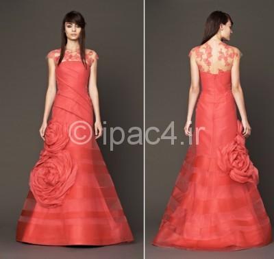 مدل پیراهن مجلسی,مدل لباس نامزدی,مدل پیراهن نامزدی,لباس مجلسی قرمز,مدل لباس شب