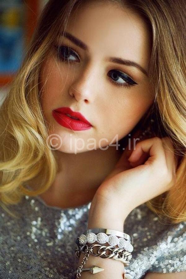 مدل آرایش صورت,آرایش صورت,آرایش و زیبایی,مدل آرایش,آرایش لایت