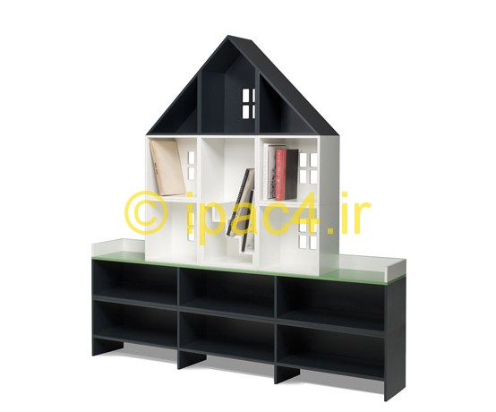 عکس از مدل کتابخانه خانگی جدید(قفسه کتاب)