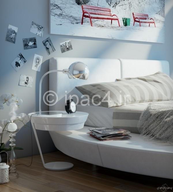 عکس اتاق خواب.اتاق خواب مدرن.دکوراسیون اتاق خواب.اتاق خواب فوق مدرن.سایت دکوراسیون.معماری داخلی.