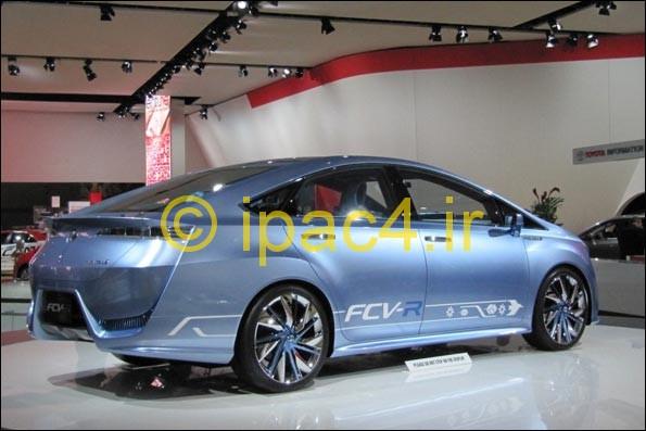 عکس از خودروی هیدروژنی تویوتا در نمایشگاه توکیو
