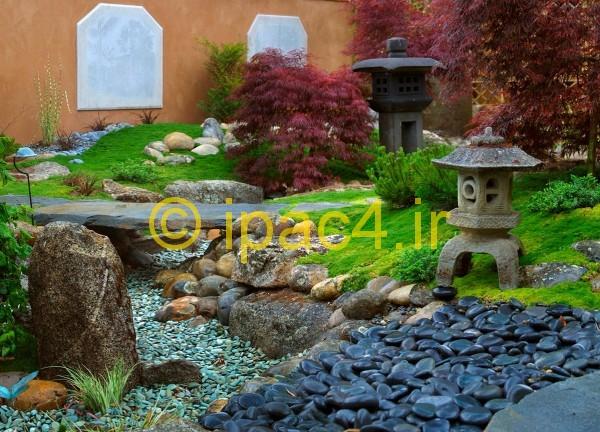 عکس از باغ و باغچه و طراحی فضای سبز,مدل طراحی فضای سبز,معماری سبز,مدل landscape در معماری