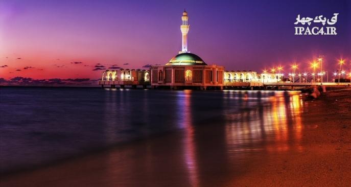 ساخت مسجد شناور در ساحل دریای سرخ,مساجد,عکس مسجد,مسجد,معماری مسجد,مسجد روی آب,مساجد جدید