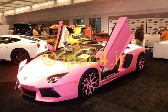 10 ماشین دیدنی سالن لس آنجلس,عکس ماشین