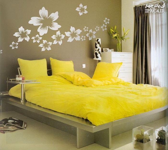 روانشناسی رنگ زرد,رنگ زرد,اتاق خواب زرد,زرد