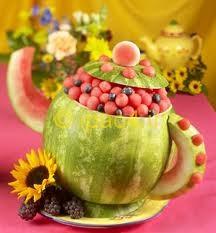 مدل تزیین هندوانه برای شب یلدا,عکس مدب هندوانه,آموزش تزیین هندوانه شب یلدا