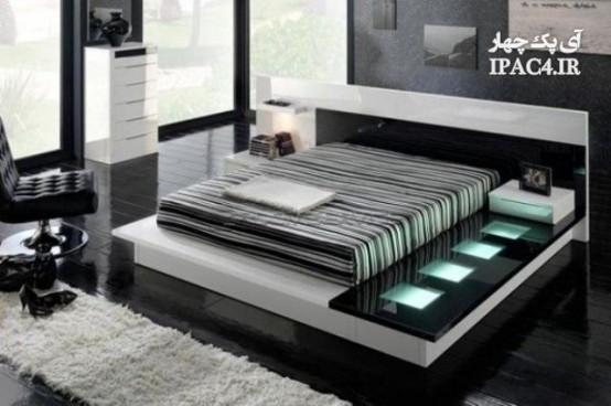 مدل تختخواب های جدید,جدیدترین مدل تختخواب,عکس تختخواب,مدل تخت,عکس تخت,تختخواب های دونفره,مدل تختخواب های دونفره,دکوراسیون اتاق خواب و تختخواب,مبلمان و معماری داخلی,مدل تختوخاب گرد,تختخواب گرد,تختخواب دایره شکل