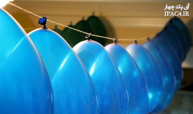 مدل تزیین دیوار برای تولد,تزسسنات تولد,تولد,بادکنک های تولد,تزیین بادکنکک های تولد