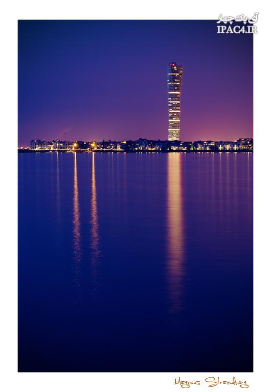 برج ترنینگ تورسو Turning Torso,عکس برج,برج ترنینک تورسو,