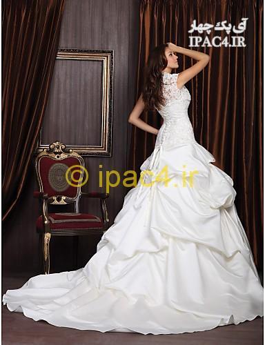 مدل لباس های عروس بسیار زیبای 2014,لباس عروس,عکس لباس عروس,مدل لباس عروس,لباس عروس پشت بلند,لباس عروس دنباله دار