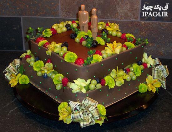 تزیین میوه,تزیین سبد میوه,تزیین میوه برای مجالس,عکس سبد میوه,مدل تزیین میوه برای مهمونی ها