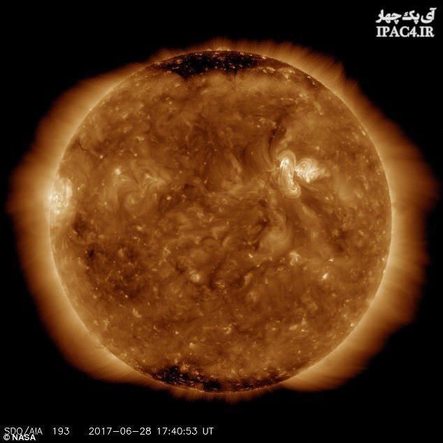 فعالیتهای خورشیدی در حال تغییر ماهیت هستند