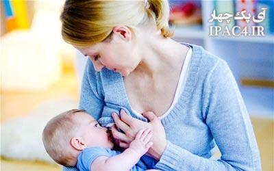 مضرات شیر مادر برای دندان کودک