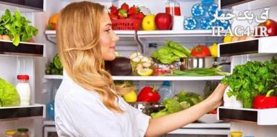 نکته هایی مهم در نگهداری از مواد غذایی