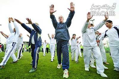 ورزش استقلال سالمندان را افزایش میدهد