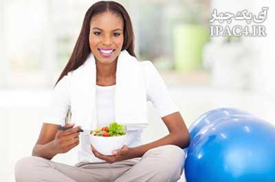 بعد از ورزش چه چیزهایی باید بخوریم