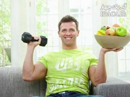 مردها برای عضله سازی این غذاها را بخورند
