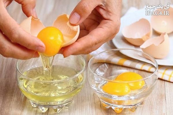 به کمک تخم مرغ درمان های طبیعی انجام دهید