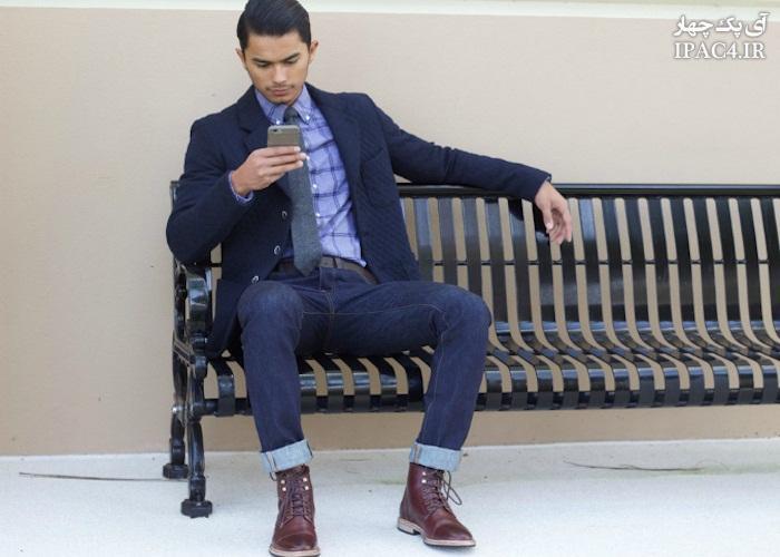 کدام مدل کفش  ها مناسب شلوار جین مردانه است؟